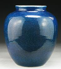 A Chinese Antique Blue Glazed Porcelain Jar