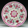 A Chinese Antique Export Famille Verte Porcelain Plate