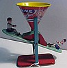 Chein Busy Mike Circa 1930s Tin Lithograph Sand Toy