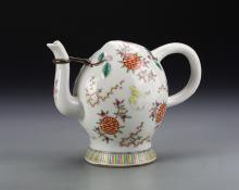 Chinese Reverse Fill Teapot