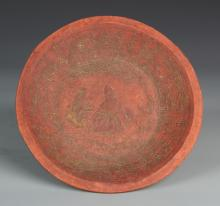 Chinese Red Sand Clay Plate