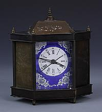Chinese Metal Desk Clock