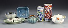 Ten Japanese Porcelain Items
