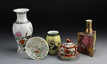 Six Japanese/Chinese Porcelain Items