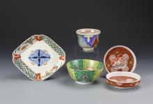 Five Vintage Porcelain Items
