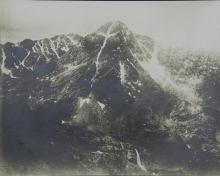 Cabinet Photograph of a Mountain