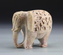 Indian Carved Stone Elephant