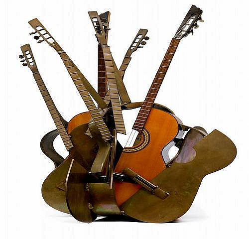 Arman 1928~2005) TITLE: Guitar ESTIMATION: