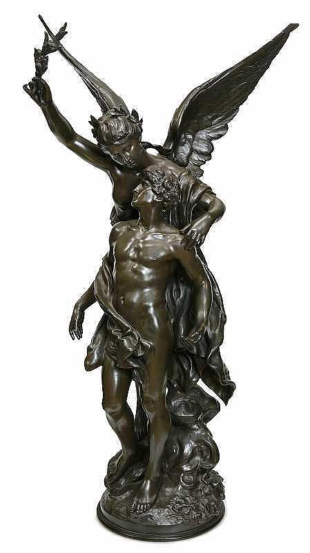 Mathurin Moreau(1822-1912)   IMMORTALITY