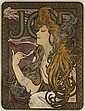 Alphonse Mucha (1860-1939): JOB, Alphonse Maria Mucha, Click for value