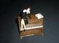 BERTHET La pin up sur le piano Pixi numéro 5445 (boîte et certificat)