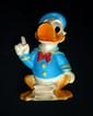 DISNEY  Grand Donald en plastique de la marque Ledra Plastica. Années 60  36 cm