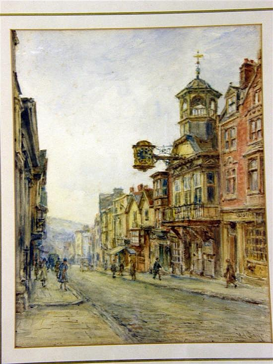 Henry James Sage (1868-1953), Guildford High Street,