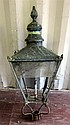 Victorian copper gas street lamp by Foster & Pullen