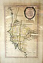 18th century French map of Senegal,