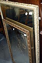 Two 1950's gilt framed mirrors