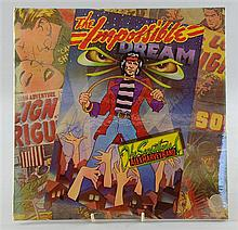Alex Harvey Band The Impossible Dream Vinyl LP signed to front cover by entire band, Alex Harvey, Zal Cleminson, Chris Glen,