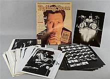 Blind Faith, English Blues Rock Band, large quantity of original promotional photos, Atco, five contact sheets of the band on tour,