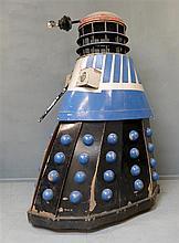 Dr Who: A replica Sugar Puff Dalek as seen in the film Daleks Invasion Earth: 2150 A.D starring Peter Cushing,