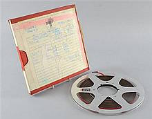 Peter Sellers, The Voice Behind The Mask, Original Book Club Edition Master Tape at Abbey Road 12.2.81