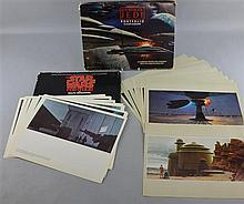 Two Star Wars portfolios by Ralph McQuarrie, Star Wars (1977) with 21 colour prints & Return Of The Jedi (1983)