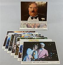 Monty Python, Life of Brian (1979), (8) & The Meaning of Life (1983), (8), Two sets of mini lobby cards