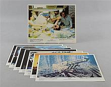 Alien (1979) Set of mini lobby cards (8), Sci Fi, 20th C Fox (8)