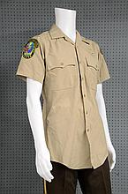 James Bond Casino Royale (2006) A Miami Police Department uniform used in the airport action scenes by a stunt double,