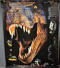 Cinema - Vinyl banners including Jurassic Park, Darkman, Lethal Weapon, Unforgiven, Mission Impossible, Lion King, A Bug's Life,