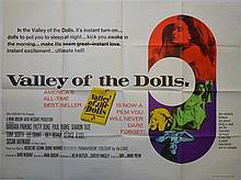 Valley Of The Dolls (1965) British Quad film poster, 20th Century Fox,