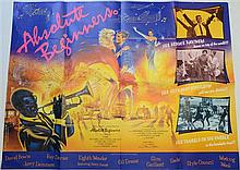 40+ British Quad film posters inc Absolute Beginners, Adventures of a Plumbers Mate, Alien Nation, Android, Avanti