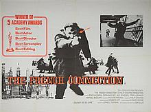 The French Connection (1971) British Quad film poster, starring Gene Hackman, 20th Century Fox,