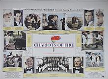 Chariots of Fire (1981) British Quad film poster, artwork by John Gorham, 20th Century Fox,