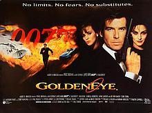 James Bond Goldeneye (1995) Two British Quad film posters including Teaser & Main, starring Pierce Brosnan, United Artists, rolled
