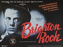 Three BFI release Quad posters including Brighton Rock (2002), Alfie (2009) & Sunset Boulevard (2003), rolled (3)