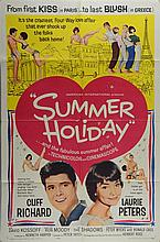 Summer Holiday (1963) US One Sheet film poster Musical starring Cliff Richard, Lauri Peters, American International,