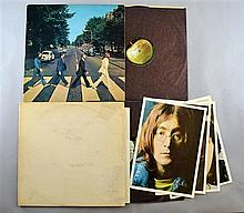 The Beatles Two Vinyl LPs including New Zealand White Album No 012266 & New Zealand Abbey Road PCSM 7088 (2)