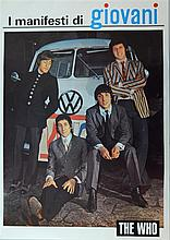 The Who Manifesti di Giovani advertising poster of the English Rock Band,