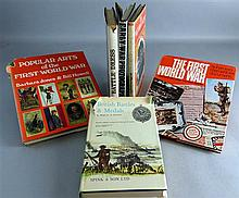 Six military related books