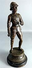 Spelter figure of General Macdonald V.C.