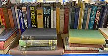 Quantity of military books on various subjects