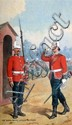 Richard Simkin -The Royal Scots, Lothian Regiment, signed watercolour