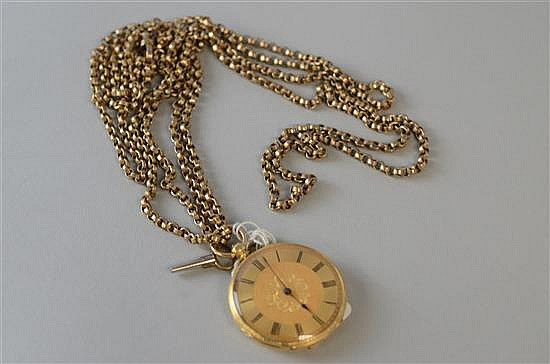 Ladys dress pocket watch