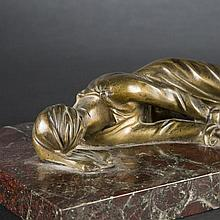 After Stefano Maderno. Saint Cecilia in bronze