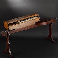 Monocorde a clavier. Late 19th Century