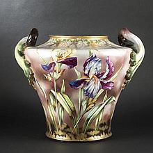 Ceramic cache-pot. Circa 1900