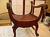 Hand Carved Wooden Chair
