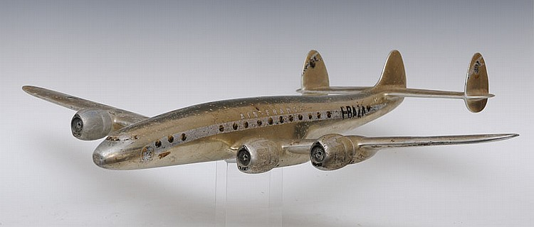 Travel Agent's Airplane Model