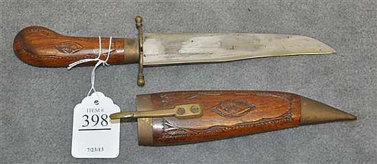 Indonesian Letter Opener in Wooden Case
