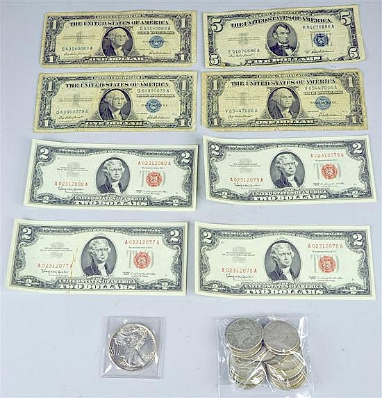 Silver & Currency Lot